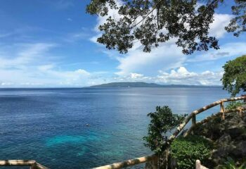 View on the dive site from Almira Diving Resort - Napaling Point, Panglao, Philippines