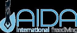 Logo AIDA freediving agency (Association Internationale pour le Développement de l'Apnée)